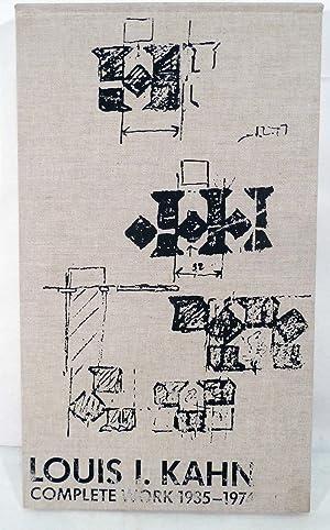 Louis I. Khan Complete Works 1935-1974: Ronner, Heinz &