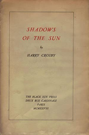 Shadows Of The Sun; First Series: Crosby, Harry
