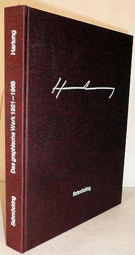 Hans Hartung Das Graphische Werk 1921-1965: Schmucking, Rolf