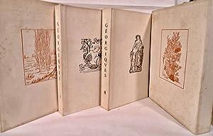 Les Georgiques [Virgile]: Texte Latin Et Version Francaise De L'Abbe Jacques Delille: Maillol,...