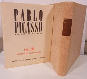 Pablo Picasso Oeuvres [Catalogue Raisonne]: Zervos, Christian