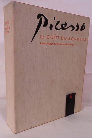 Le Gout Du Bonheur; a suite of happy, playful, and erotic drawings: Picasso, Pablo