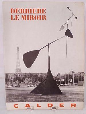 Derriere Le Miroir. No. 113, 1959: Calder, Alexander [Paris. Derriere Le Miroir]