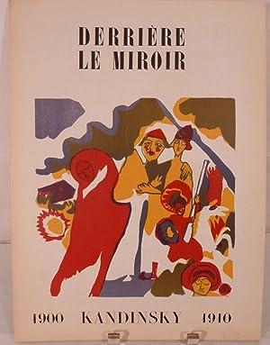 1900 Kandinsky 1910. No. 42, November-December 1951: Kandinsky, Wassily [Paris. Derriere Le Miroir]
