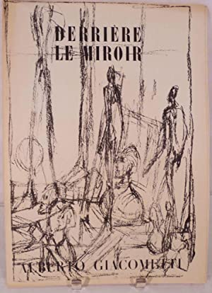Derriere Le Miroir. Nos. 39-40, June-July 1951: Giacometti, Alberto [Paris. Derriere Le Miroir]
