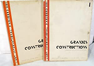 Grand Constructions; Vols. 1-2 of L'Art International d'Aujourd'hui: Mallet-Stevens,...