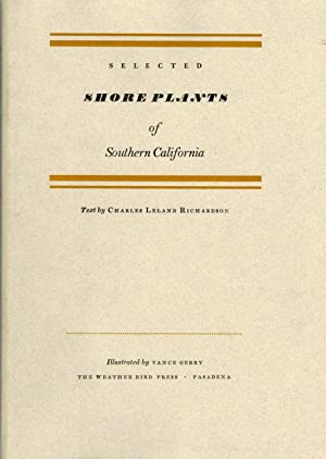 Selected Plants of Southern California; Illustrated by Vance Gerry