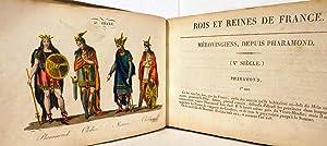Les Rois Et Reines De France En Estampes, Ou Abrege Historique Et Chronologique De Chaque Regne, ...
