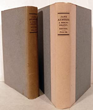 Jane Austen: A Bibliography: Keynes, Geoffrey