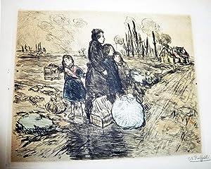 Jean-Francois Raffaelli Le Peintre Graveur Illustre [Vol. 16]: Delteil, Loys