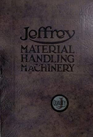 Jeffrey Material Handling Machinery For Every Industry Catalog No. 296