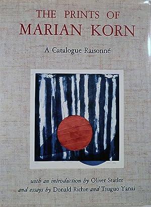 The Prints of Marian Korn A Catalogue Raisonne: Korn, Marian (Illustrator)