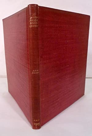 A Bibliography Of The First Editions Of Published And Privately Printed Books And Pamphlets By ...