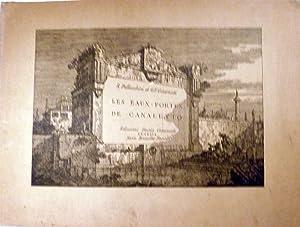Les Eau-Fortes De Canaletto: Pallucchini, Rodolfo & G.F. Guarnati