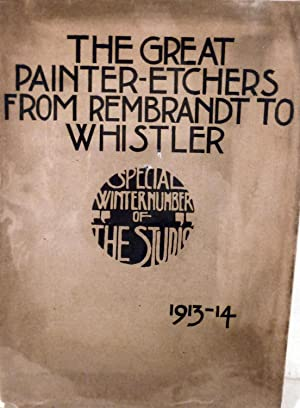 The Great Painter-Etchers From Rembrandt To Whistler: Salaman, Malcolm C.