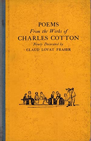Poems from the works of Charles Cotton: Fraser, Claud Lovat (Illustrator)