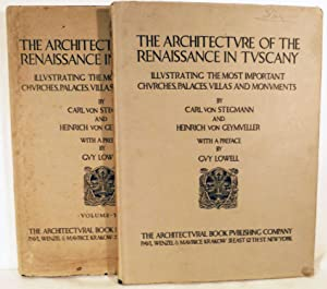The Architecture Of The Renaissance In Tuscany Illustrating The Most Important Churches, Palaces,...