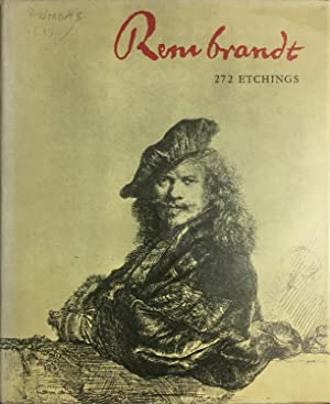 rembrandt etchings 272 reproductions of rembrandts etchings with descriptive catalog