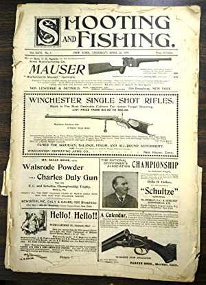 Shooting & Fishing Vol. XXVI No. 1 Periodical April 20, 1899