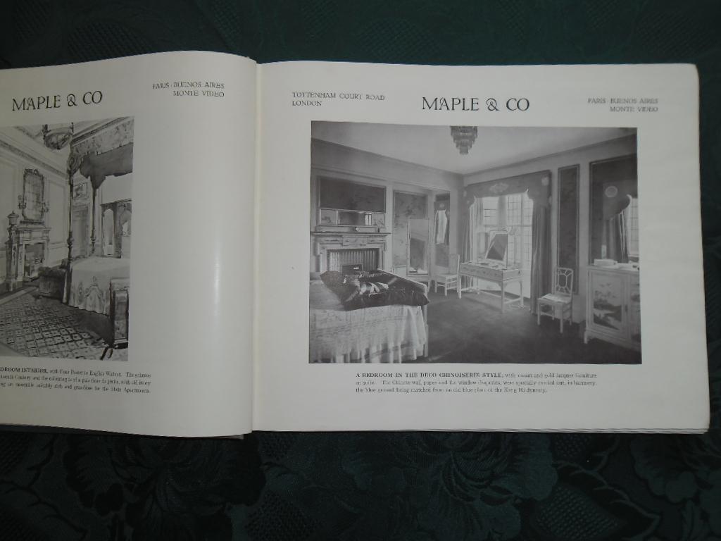 Illustrations of Furniture (Maple & Co Furniture Catalogue - Slightly AF - See Description): ...