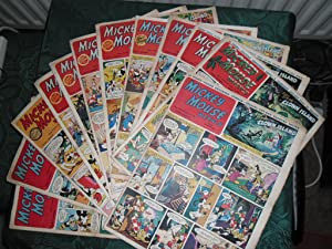 Hurrah for the Secret Seven - ENID BLYTON Serial COMPLETE in 12 Issues of the ' Mickey Mouse Week...