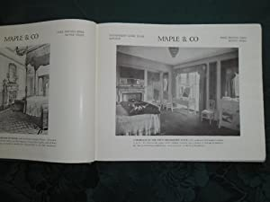 Illustrations of Furniture (Maple & Co Furniture Catalogue - Slightly AF - See Description): ...