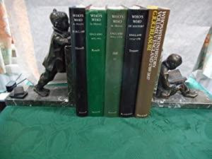 Who's Who in History Set of 5. (Volumes 1 - 5) from 55 BC (Volume 1) to 1837 (Volume 5)