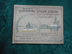 Model of a Horizontal Steam Engine furnished with Meyer's Variable Expansion Gear for the use of ...