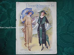 Catalogue of Spring and Summer Fashions 1921. Peter Robinson Ltd, Oxford St & Regent St. W1.