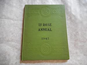 THE ROSE ANNUAL for 1945 of the NATIONAL ROSE SOCIETY