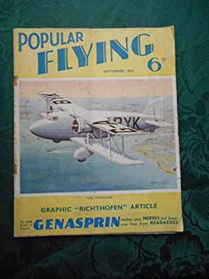 Popular Flying. Vol II, No 6, September 1933 Includes