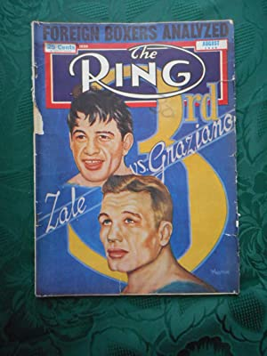 The Ring. World's Foremost Boxing Magazine. Zale vs. Graziano. August 1948. Vol. XXVII. No. 7.