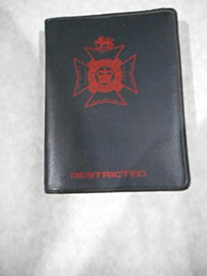 The Rhodesia Regiment Pocket Book