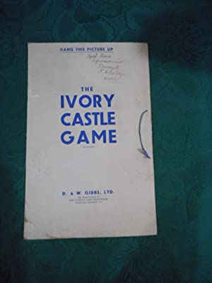 The Ivory Castle Game (BOARD GAME) Gibbs Dentifice - Toothpaste Advertising Game