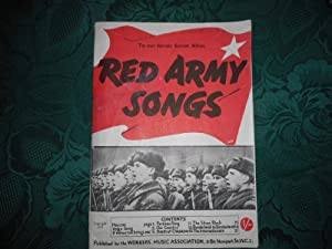 Red Army Songs To Our Heroic Soviet Allies