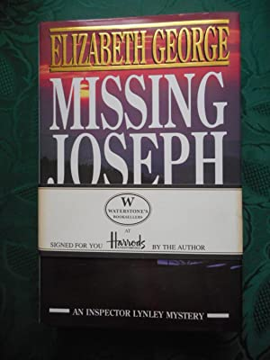 Missing Joseph - SIGNED 1st Edition Copy With Harrods / Waterstones Promotional Band and Bookmark
