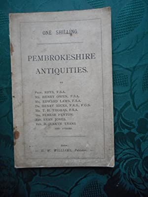 Pembrokeshire Antiquities. Reprints from