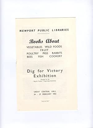 Books About.A 'Dig for Victory' Exhibition (pamphlet)