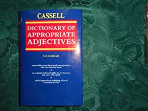 Cassell Dictionary of Appropriate Adjectives