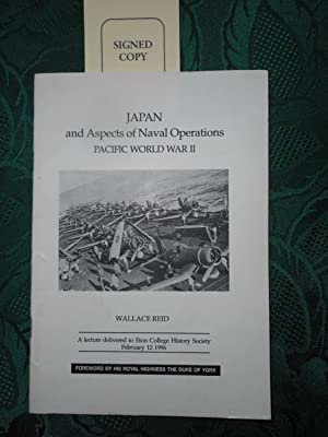 Japan and Aspects of Naval Operations. Pacific World War II. (SIGNED Copy)