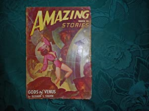 AMAZING Stories: Volume 22 Number 3. March, 1948 Featuring the novel 'Gods of Venus' by Richard S...