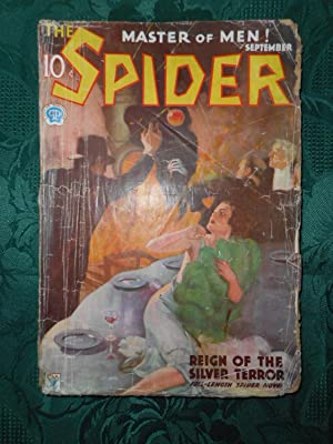 The Spider. The Master of Men! - September 1934 ORIGINAL Issue Volume 3. No. 4. Feature Story - '...