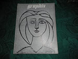GRAPHIS MAGAZINE - PICASSO Cover - International Journal of Graphic Art and Applied Art. No 19 19...