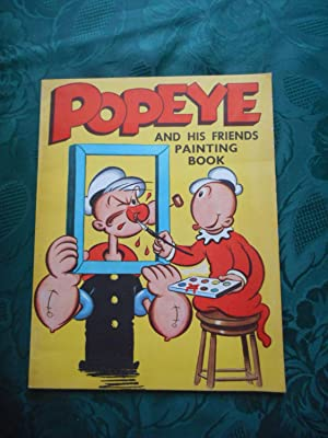 Popeye and His Friends Painting Book