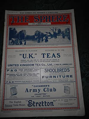 The Sphere April 14, 1917 Volume LXVIII. No 899 - War Number 141. An Illustrated Newspaper for th...