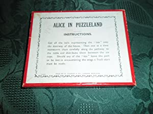 Alice in Puzzleland. A Journet Dexterity Puzzle Game (Alice in Wonderland Ephemera): R. Journet & ...