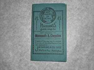 Hardings' Guide MAP to the District of Monmouth & Chepstow