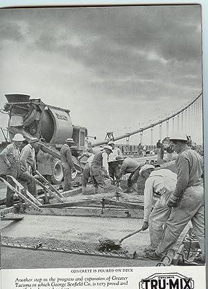 Souvenir of Tacoma Narrows Bridge: Washington State Toll Bridge Authority)