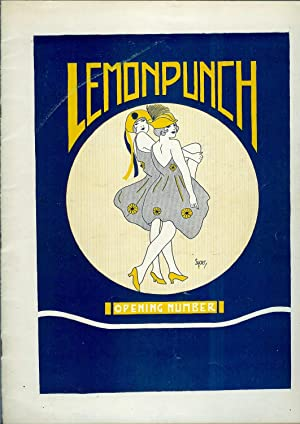 Lemon Punch - OPENING NUMBER: Eisman, Stanley C. (Editor-in-chief);