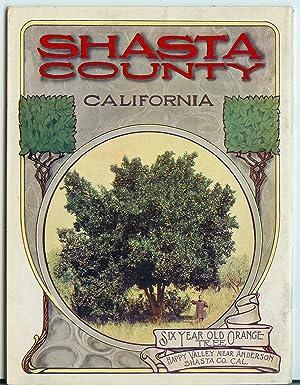 Shasta County, California: Egilbert, W. D.;